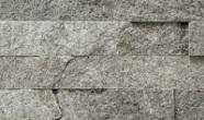 Łupek na ścianie Aranzacja ściany w kamieniu, łupek MAGIC SILVER