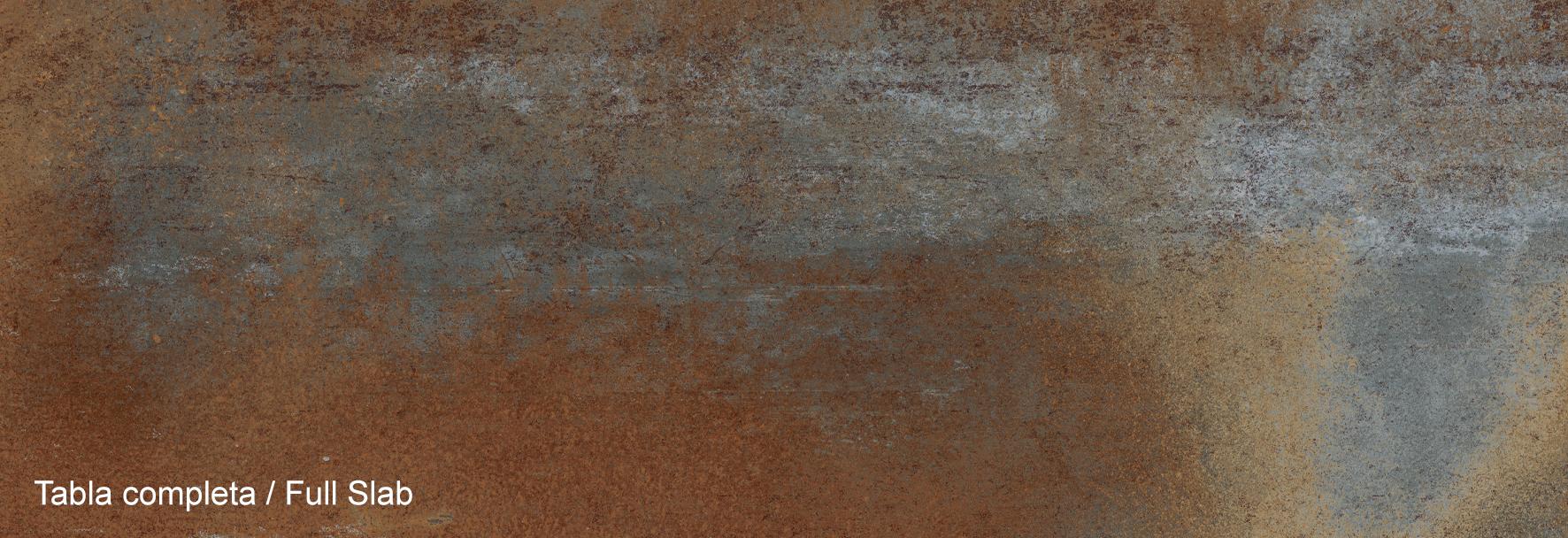 SPIEKI KWARCOWE NEOLITH_IRON BLUE, wygląd płyty